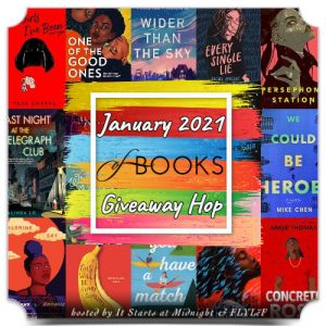 January 2021 Of Books Giveaway Hop (INT)